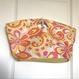 Clinique Paisley Tote Bag